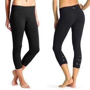 Athleta X's and O's Power Capris